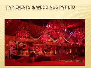 Wedding Plannners & Decorators in Delhi