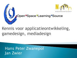 Kennis voor applicatieontwikkeling, gamedesign, mediadesign