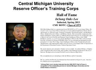 Central Michigan University Reserve Officer's Training Corps