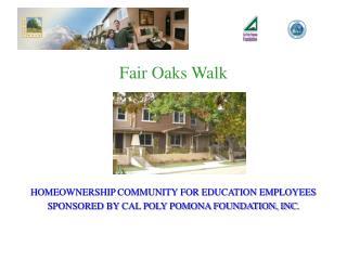 Fair Oaks Walk