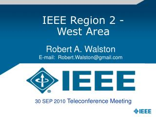 IEEE Region 2 -    West Area