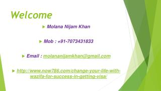 Change your Life with wazifa for Success in Getting Visa