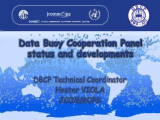 Data Buoy Cooperation Panel status  and developments