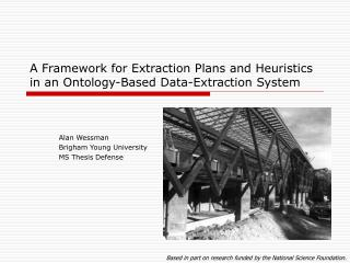 A Framework for Extraction Plans and Heuristics in an Ontology-Based Data-Extraction System