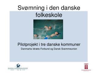 Svømning i den danske folkeskole