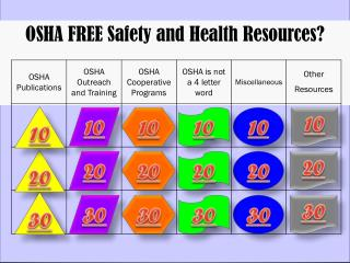 OSHA FREE Safety and Health Resources?