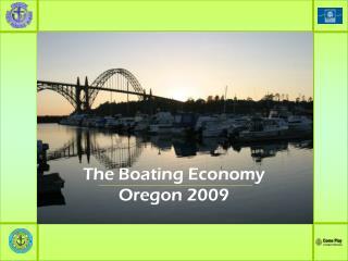 The Boating Economy Oregon 2009