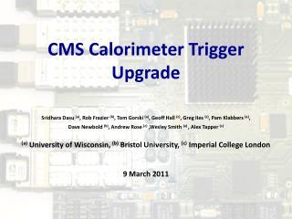 CMS Calorimeter Trigger Upgrade