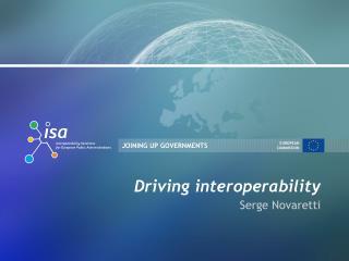 Driving interoperability