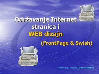Odr�avanje Internet stranica i  WEB dizajn