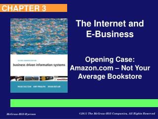 Opening Case: Amazon – Not Your Average Bookstore