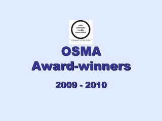 OSMA  Award-winners