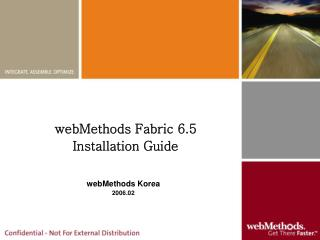 webMethods Fabric 6.5  Installation Guide