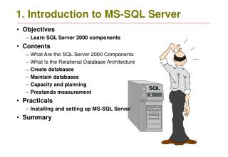 1. Introduction to MS-SQL Server