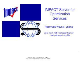 IMPACT Solver for Optimization Services