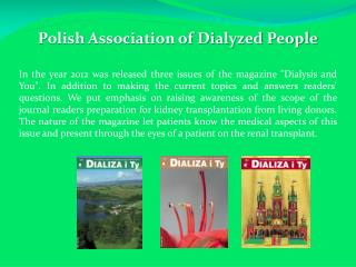 Polish Association of Dialyzed People
