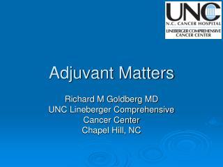 Adjuvant Matters