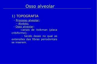 Osso alveolar