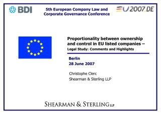 Christophe Clerc Shearman & Sterling LLP