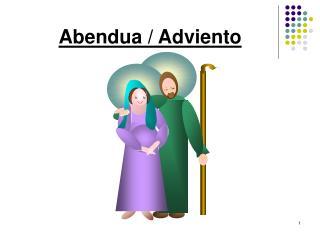 Abendua / Adviento