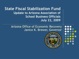 Arizona Office of Economic Recovery