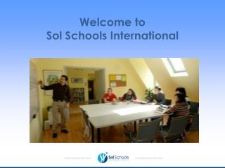 Welcome to   Sol Schools International