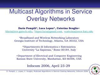 Infocom 2006, April 23-29