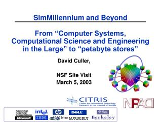 David Culler, NSF Site Visit March 5, 2003