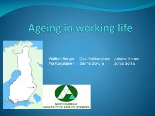 Ageing  in  working  life