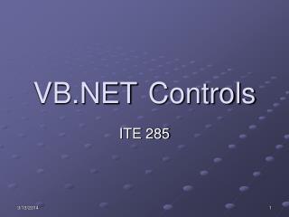 VB Controls