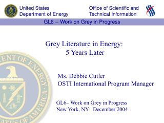 GL6– Work on Grey in Progress  New York, NY   December 2004