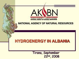 HYDROENERGY IN ALBANIA