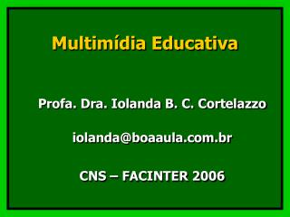 Multim dia Educativa