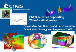 CNES activities supporting  Wide-Swath altimetry