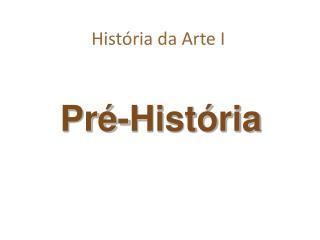 História da Arte I