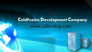 ColdFusion Development Company