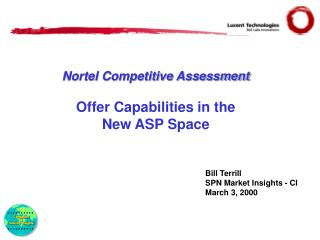 Nortel Competitive Assessment Offer Capabilities in the New ASP Space