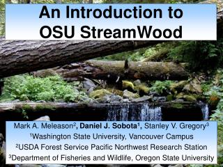 An Introduction to OSU StreamWood