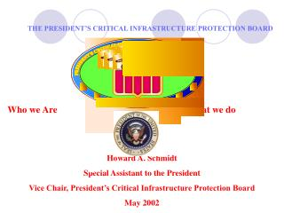 THE PRESIDENT'S CRITICAL INFRASTRUCTURE PROTECTION BOARD