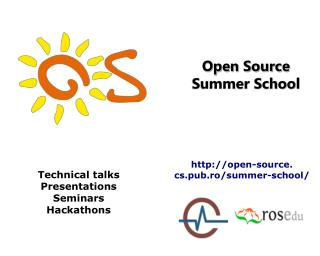 Open Source Summer School