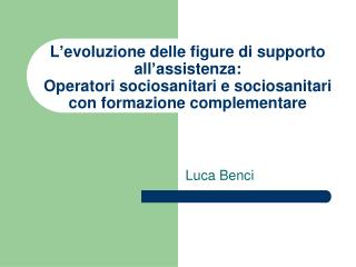 Luca Benci