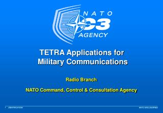 TETRA Applications for  Military Communications