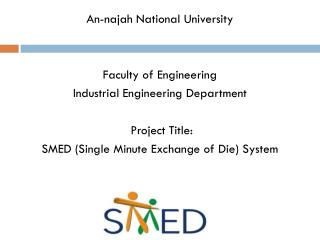 An-najah National University Faculty of Engineering Industrial Engineering Department