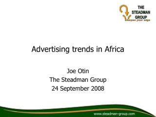 Advertising trends in Africa