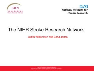 The NIHR Stroke Research Network