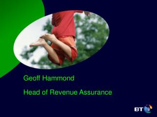 Geoff Hammond Head of Revenue Assurance