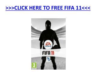 Free Fifa 11