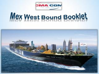Mex  West  Bound Booklet
