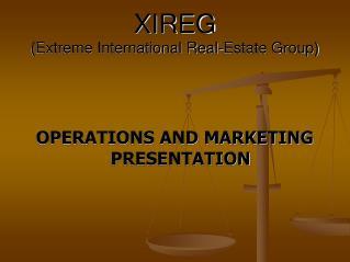 XIREG (Extreme International Real-Estate Group)