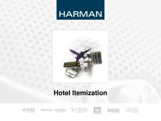 Hotel Itemization